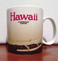 HAWAII Starbucks City Mug Collector Series Global Icon Coffee/Tea 16oz 2008