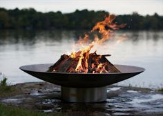 """The Fire Pit Store - Fire Pit Art Bella Vita 70"""" Stainless Steel - BV70, $3,880.00 (http://www.thefirepitstore.com/fire-pit-art-bella-vita-70-stainless-steel-bv70/)"""