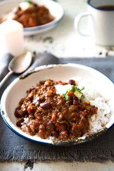 This hearty classic is made with beef in a richly spiced tomato sauce. Even better the next day!