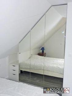 Quelques id es cr atives de rangement sous pente for Porte miroir lapeyre