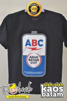 Anak Batam Cuy Hitam • Premium Quality • IDR 129000 • Official T-Shirt Merchandise from Batam City