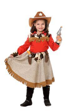 disfraces de vaquera para niña