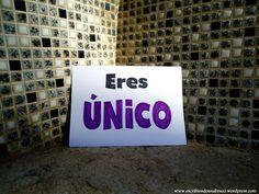 Eres único  #EscribiendoUnAbrazo #abrazoescrito #abrazo #Mataró