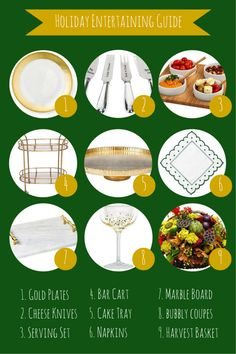 Holiday Entertaining Guide by Beaux & Belles