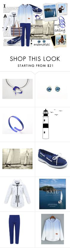 """""""Sailing on Cyclades"""" by giampourasjewel ❤ liked on Polyvore featuring Dot & Bo, Leftbank Art, Eastland, Marc New York, Alexander McQueen and Monsoon"""