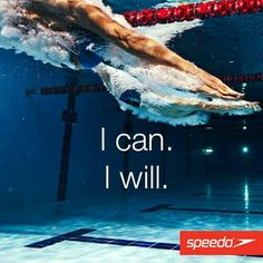 I can...I will!