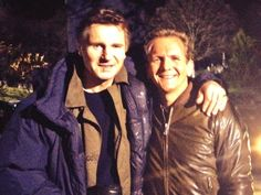 Photo: Uploaded from the Photobucket iPhone App. This Photo was uploaded by SRocheFanPage Sebastian Roche, Im Jealous, Liam Neeson, Most Favorite, Best Actor, It Cast, Actors, Shit Happens, Couple Photos