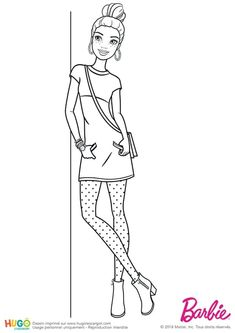 Disney Coloring Pages Printables, Barbie Coloring Pages, Cute Coloring Pages, Coloring Pages To Print, Adult Coloring Pages, Coloring Sheets, Coloring Books, Barbie Colouring, Hello Kitty Drawing