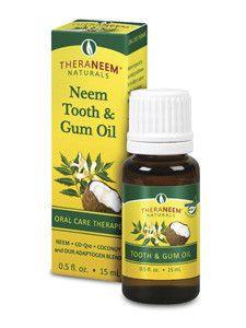 Theraneem- Neem Tooth & Gum Oil .5 fl oz
