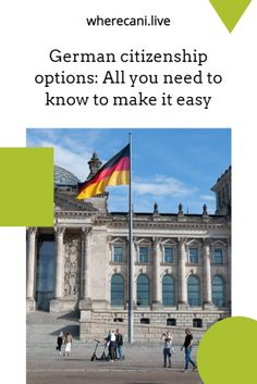 If you are wanting German citizenship then this guide will tell you how.  #german #germany #citizenship Work Abroad, Study Abroad, Getting A Passport, Moving To Germany, Living In Europe, New Africa, European Vacation, Cool Countries