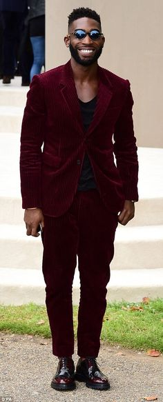 Fashion Week favourites: Tinie Tempah and Paloma Faith were both in tow at the highly anticipated show