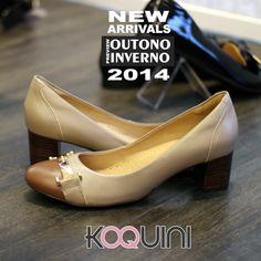 Já tem idéia de look pra amanhã? #koquini #sapatilhas #euquero #saltinho #conforto Veja mais: http://koqu.in/1hIKJhX