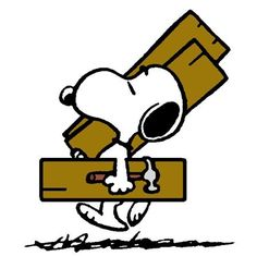 Snoopy - Carpenter - Peanuts Gang