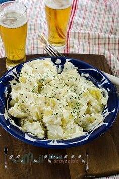 Side Dish Recipes, Wine Recipes, Salad Recipes, Side Dishes, Aioli, Spanish Food, Potato Salad, Cauliflower, Salads