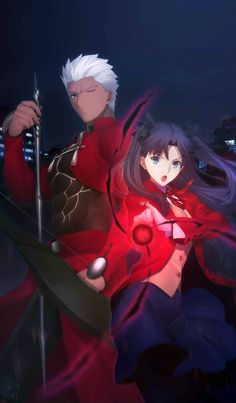 This Craft Essence was available during the Fate/stay night Heaven's Feel Premiere Commemoration Campaign event. Trivia This Craft Essence features EMIYA and Tohsaka Rin. Fate Stay Night Rin, Fate Stay Night Series, Chica Anime Manga, Anime Kawaii, Fate Archer, Archer Emiya, Fate/stay Night, Tohsaka Rin, Black Anime Characters