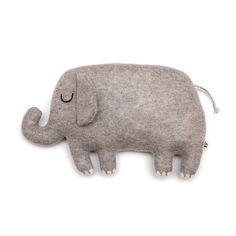 Egbert the Elephant Lambswool Plush Toy - In stock