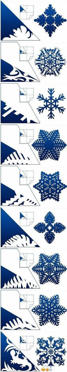 M s de 1000 im genes sobre navidad en pinterest copos de for Estrella de nieve