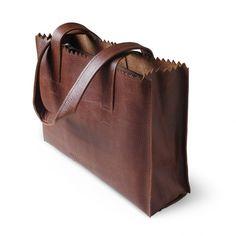 My Paper Bag Handbag Zipper Rambler Brandy - € 159,95