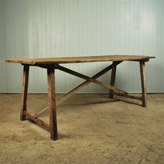 Spanish Dining Table - Rustic Furniture - Original House