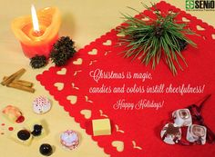 Christmas nears... Senio want to wish you Happy Holidays!  www.seniocer.it