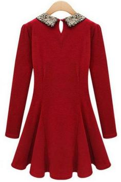 Cashmere long sleeve dress