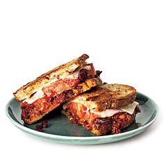 Grilled Gruyère and Olive Tapenade Sandwiches - Quick-and-Easy Vegetarian Recipes - Cooking Light