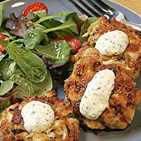 Ruth Chris's Crab Cakes by Nancy