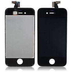 cool Group Vertical Black Front Screen Replacement Part for iPhone 4S – Complete assembly includes Touch Screen Digitizer + LCD + Frame