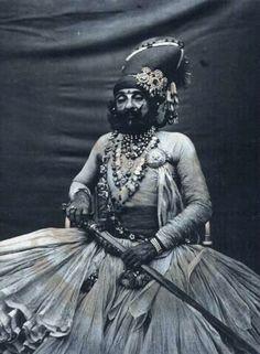 The Maharaja of Jodhpur. Looks like he's done it all.