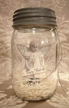 I want to do this with a picture of my grandma, myself, my daughters and granddaughters, all together in one single jar filled with love, great mothers day present~ The Feathered Nest ~