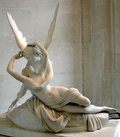 """""""Eros y Psique"""" (1793) Antonio Canova"""