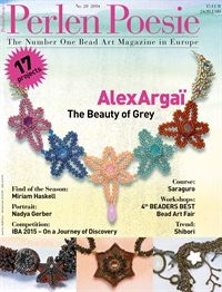 The best beading magazine in Europe is now available in the US in English! Subscribe to Perlen Poesie (Bead Poetry) at www.Perlen-Poesie.us.