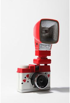 Lomography Diana F + Mini Wonderland Edition Camera: Darling exclusive edition of the classic 35mm Diana for those same dreamy views but now with the option of a half frame (so you can fit two different shots on one) or a cool retro vintage square format. $120.