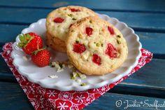 Erdbeer-Cookies - Jankes Soulfood