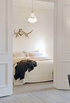 antler + chandelier #dansk #inspired - Loved by @denmarkhouse