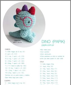 (notitle) Learn the fact (generic term) of how to crochet, starting at the very beginning. Crochet Dinosaur Patterns, Crochet Bunny Pattern, Crochet Amigurumi Free Patterns, Cute Crochet, Crochet Crafts, Crochet Dolls, Crochet Baby, Yarn Projects, Crochet Projects