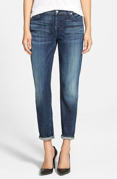 these 7 for all mankind jeans are sure to transition effortlessly through the seasons @nordstrom