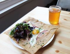 Buckwheat Crepes!!!  Galette 88, 88 Hardie Pl. (at Kearny St.); 415-989-2222 or galettesf.com