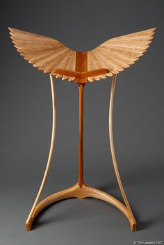 Taking Wing design lectern by Tim Lawson.