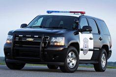 Tahoe Police Vehicle