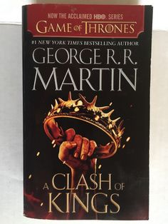 A Clash Of Kings Paperback Book Sequel to A Game Of Thrones Book 2 George Martin
