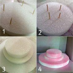 {for mamas}: Cake Pop Stand {DIY}                                                                                                                                                     More