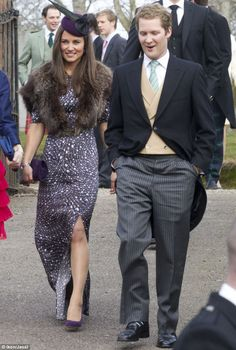 December 2012 - Pippa Middleton attended a friends wedding in Aberdeenshire
