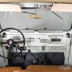 1974 Toyota LandCruiser FJ43 - White