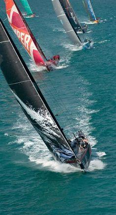 sail racing...