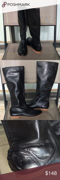 FRYE Jillian pull on boots Worn couple times like new condition Frye Shoes