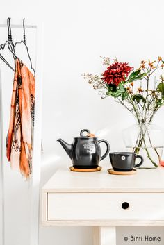 Binti Home Blog: Autumn colours in my home office