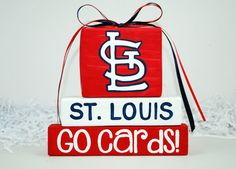 St. Louis Cardinals Baseball Sport WoodenBlock by WoodenBlock, $12.00