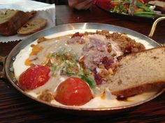 Hamushka - Carne moida e creme de Tahine e Yogurt, Machne Yuda, Restaurante, Jerusalem