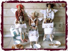 Купить Кукла Тильда Кофейный Ангел - коричневый, кофейный, кофе, кухня, кукла ручной работы